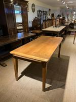 Farmhouse table cherry wood 71 inches long (6 of 11)