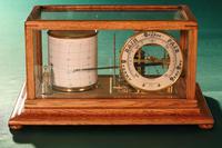 Short & Mason Tycos Drum Barograph and Barometer No H 5431 c1930 (2 of 13)