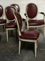 Set of 8 French Dining Chairs Lovely Original Finish (18 of 18)