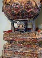 Magnificent Quan Am 'Guanyin' - Antique Carving (6 of 6)