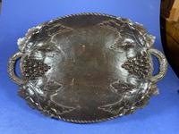 Victorian 3 Air Carved Black Forrest Musical Fruit Bowl (20 of 20)
