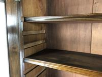Antique 19th Century Two Stage Mahogany Bookcase (15 of 19)