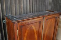 Antique mahogany hanging cabinet (7 of 7)