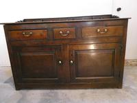 English 18th Century Oak Dresser with Spice Drawers (15 of 15)