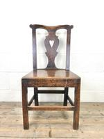 Set of Four 19th Century Oak Dining Chairs (5 of 10)