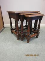 Good Quality Oak Nest of Tables (4 of 4)