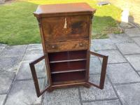 Victorian Walnut Sheet Music/ Bureau Cabinet (3 of 5)