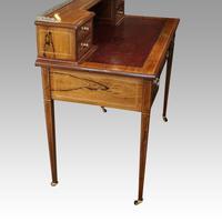 Edwardian Inlaid Rosewood Desk (10 of 11)