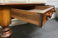Fine Rare Burr Walnut Writing Table or Desk (4 of 20)