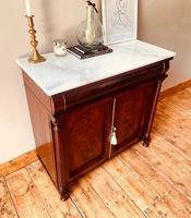 Antique Sideboard / Mahogany Antique Chiffonnier / Cupboard (7 of 7)