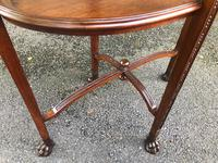 Antique Mahogany Bijouterie Display Table (7 of 9)