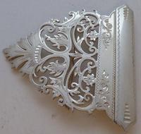 Sheffield 1900 Hallmarked Solid Silver Nurses Belt Buckle George Guirron Rhoden (3 of 8)