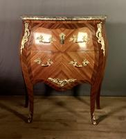 Small French Louis XVI Style Bombe Commode (8 of 12)