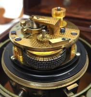 Original Thomas Mercer 2-day Marine Chronometer Ships Clock– Chain Fusee Earnshaws Detent Escapement Box & Key (7 of 14)