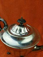 Antique Silver Plate Sheffield Teapot - Art Deco  C1920 (10 of 11)