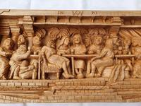 'Last Supper' High Relief Carving in Lime Wood, by Scottish Sculptor Alan Lees (9 of 9)