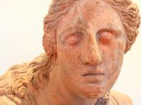 Huge 20th Century Terracotta Head of Niobe Classical Bust (6 of 6)