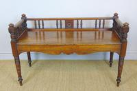 Good Aesthetic Mahogany Window Seat by Henry Pitts of Leeds (2 of 12)