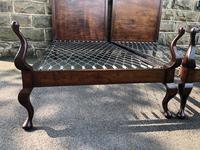 Pair of Antique Mahogany Single Beds (6 of 10)