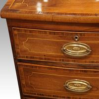Regency Inlaid Bow Fronted Chest (6 of 10)