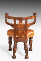Rare William IV Period Desk or Library Chair (4 of 7)