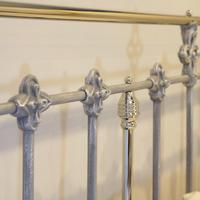 Antique Bed with Nickel Plating (8 of 9)