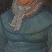 19th Century German School, Portrait of a Lady with a Bonnet (8 of 9)