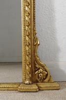 Victorian Gilt Overmantle Mirror (6 of 8)