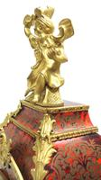 Wow! Phenomenal French Boulle Mantel Clock Rare 8-day Striking Bracket Clock Superb Condition (16 of 22)