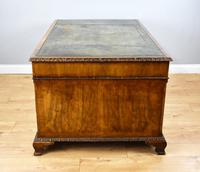 Antique Burr Walnut Partners Desk (12 of 18)