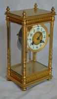 Four Glass Mantel Clock (6 of 6)