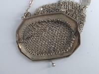 Silver Plate Chinese Chainmail Purse (7 of 7)