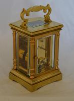 Carriage Clock with Convex Case Mouldings (2 of 5)