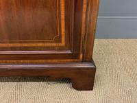 Edwardian Inlaid Mahogany Secretaire Bookcase (10 of 21)