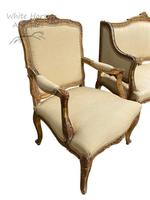 Exceptional Antique French 19th Century Gold Gilt Upholstered Salon Suite (4 of 9)