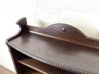 Early 20th Century Antique Oak Bookcase with Four Shelves (5 of 10)