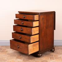 19th Century Small Mahogany Chest of Drawers with Extending Top (11 of 24)