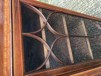 Wonderful Edwardian Inlaid Mahogany Four Door Breakfront Bookcase by Maple & co (13 of 14)