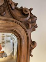 Carved Oak Mirror (5 of 7)