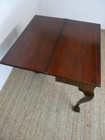 Neat English 18thc Turn Over Top Table (6 of 12)