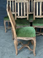 Set of 6 French Oak Farmhouse Dining Chairs (9 of 10)