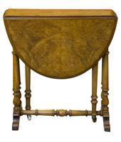 Fine Burr Walnut Sutherland Table (5 of 6)