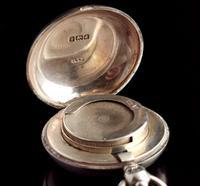 Antique Silver Sovereign Case, Coin Holder, Edwardian (9 of 13)