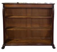 William IV Mahogany Open Bookcase (2 of 6)
