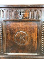 18th Century Carved Oak Blanket Box (6 of 11)