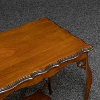 Edwardian Mahogany Window Table (5 of 8)