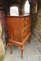 George II Walnut Chest on Stand (4 of 12)