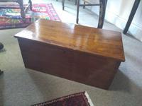 19th Century Mahogany Deed Box