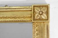 19th Century English Gilt Overmantle Mirror (6 of 11)