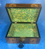 Victorian Walnut Tunbridge Ware P Box (9 of 9)